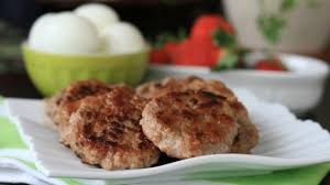 Turkey Apple Breakfast Patties